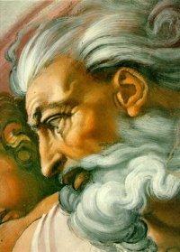 God is Dead - Michaelangelo Meets Nietzsche